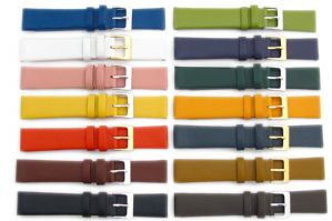 Fine Calf Leather Watch Strap Lots  of Colours 16mm 18mm 20mm